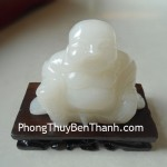 Tượng Phật Di lặc Bạch Ngọc Quảng Đông cuộc sống hạnh phúc N056