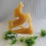 Ngựa vàng phong thủy ngọc Hoàng Long Tân Cương mang lại may mắn M089
