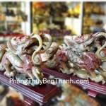 Tượng Rồng nhả châu phong thủy Tiêu Ngọc Quảng Đông hóa giải tai ách RTN01