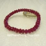 Vòng tay Ruby đỏ biểu tượng hạnh phúc S879 18600